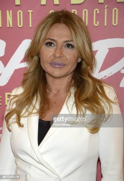 Cristina Tarrega attends the premiere of 'Desatadas' at the Capitol theatre on January 19 2018 in Madrid Spain