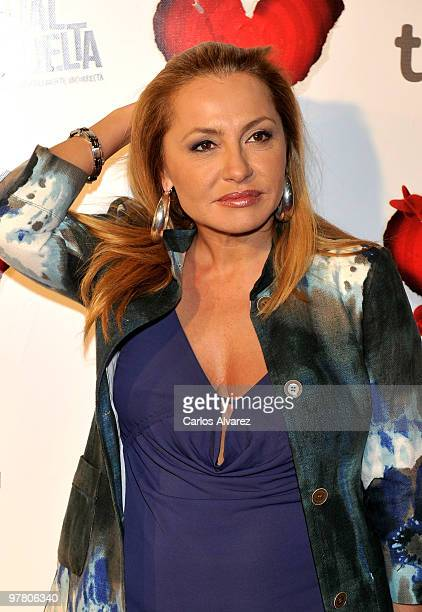 Cristina Tarrega attends the premiere of ''Tension Sexual No Resuelta'' at the Capitol cinema on March 17 2010 in Madrid Spain