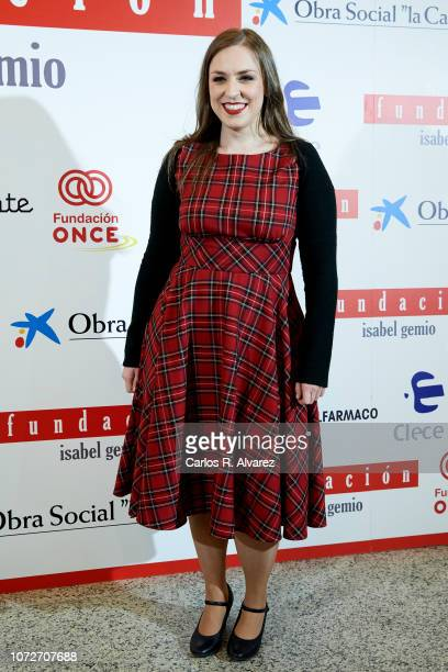 Cristina Toledo attends 'Estrellas por la Ciencia' gala at the Canal Theater on November 26 2018 in Madrid Spain