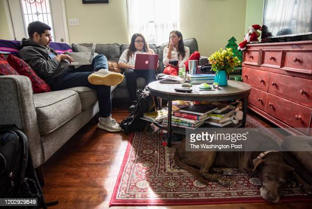 Cristina Tzintzún Ramirez eats dinner at her home in Austin Texas on Sunday Jan 13 2020 Ramirez who considers herself true progressive is running for...