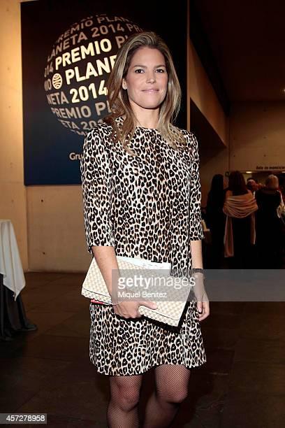 Cristina VallsTaberner attends the '63th Premio Planeta' Literature Awards at the Palau de Congressos de Catalunya on October 15 2014 in Barcelona...