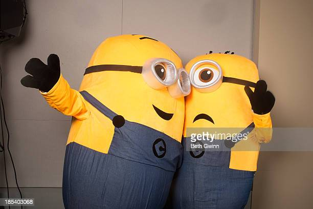 Cristina Wegme Elizabeth Walloms as the Minions attends Nashville Comic Con 2013 at Music City Center on October 19 2013 in Nashville Tennessee