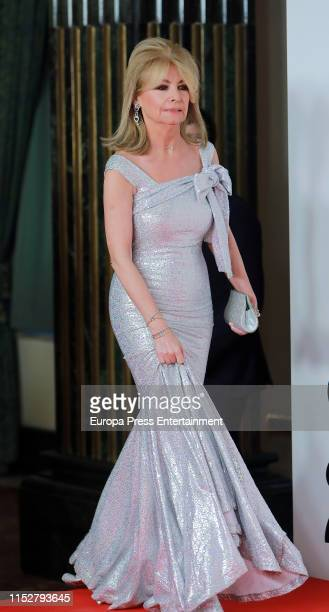 Cristina Yanes attends ELLE Charity Gala 2019 to raise funds for cancer at Intercontinental Hotel on May 30 2019 in Madrid Spain