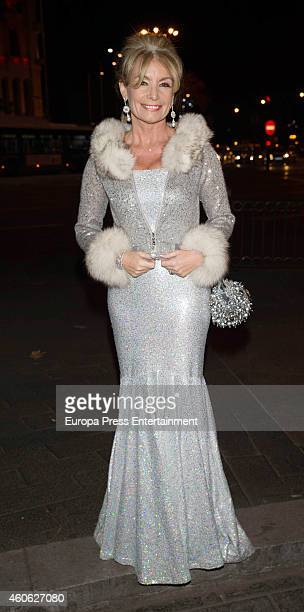 Cristina Yanes attends Tiffany charity party on December 10 2014 in Madrid Spain