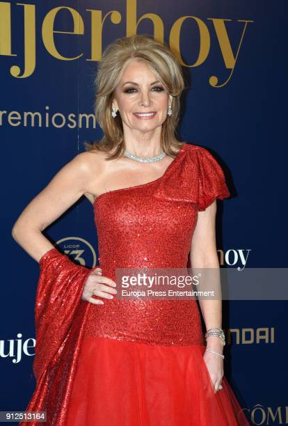 Cristina Yanes attends 'VII Premios Mujer Hoy' at Casino on January 30 2018 in Madrid Spain