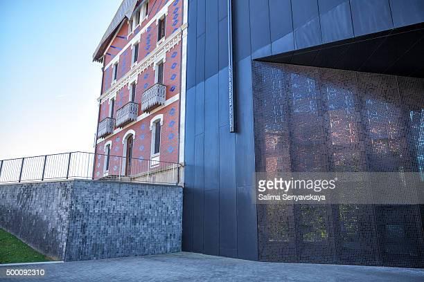 cristobal balenciaga museum in getaria - balenciaga designer label stock pictures, royalty-free photos & images