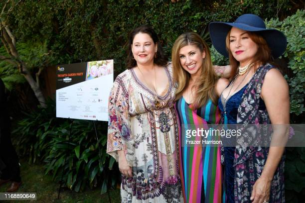 Cristy Coors Beasley Denah Angel Shenkman Clara York attend BAFTA Los Angeles Garden Party at The British Residence on August 18 2019 in Los Angeles...