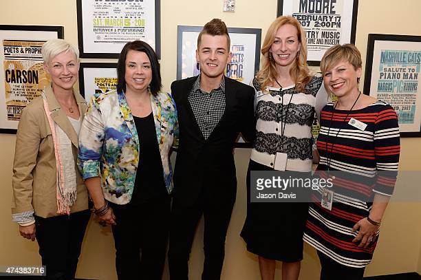 Cristy McNabb Southwest Airline's Community Affairs Grassroots Regional Leader Ana Schwager Recording Artist Chase Bryant Country Music Hall of...