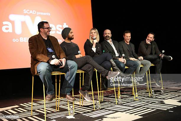 TV critic Alan Sepinwall Actor Antony Starr Actress Ivana Milicevic Actor Matt Servitto Actor Matthew Rauch and Writer and Executive Producer Adam...