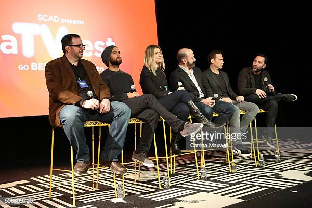 TV critic Alan Sepinwall Actor Antony Starr Actress Ivana Milicevic Actor Matt Servitto Actor Matthew Rauch and Writer and Executive Producer Adam...