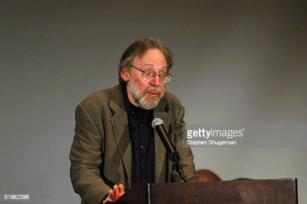 Critic Kenneth Turan speaks at The 30th Annual Los Angeles Film Critics Association Awards at The St Regis Hotel on January 13 2005 in Century City...