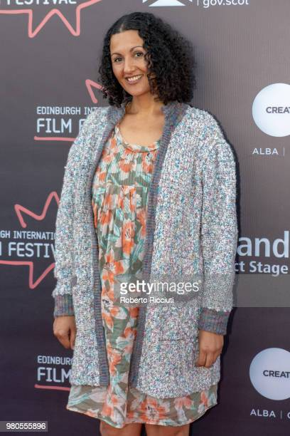 Critic Miriam Bale attends a photocall during the 72nd Edinburgh International Film Festival at Cineworld on June 21 2018 in Edinburgh Scotland
