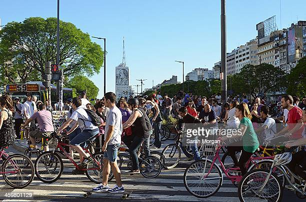 Critical Mass, or Masa Critica en Buenos Aires. Critical Mass started in 1992 in San Francisco in an attempt to force automobiles to respect cyclists...