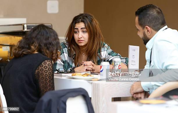 Critically acclaimed Saudi Arabian director Haifaa Al Mansour meets with emerging Saudi Arabian film maker Shahad Ameen during the inaugural edition...