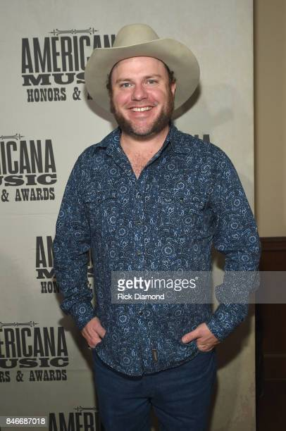 Critter Fuqua attends the 2017 Americana Music Association Honors Awards on September 13 2017 in Nashville Tennessee