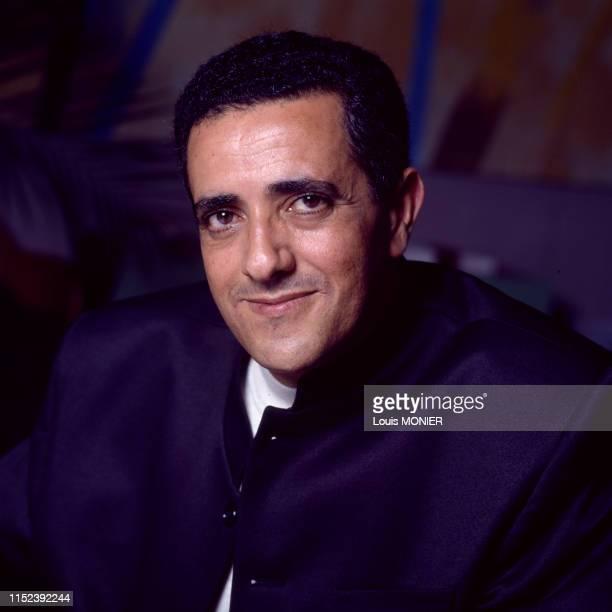 écrivain algérien Idir Tas à Paris en 1998, France.