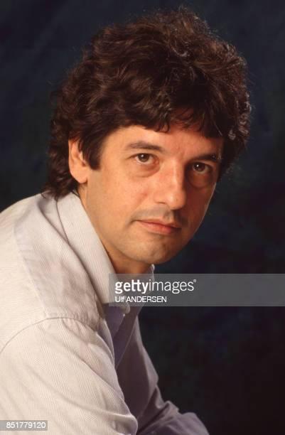 L'écrivain Bruno Bontempelli en France le 3 septembre 1992