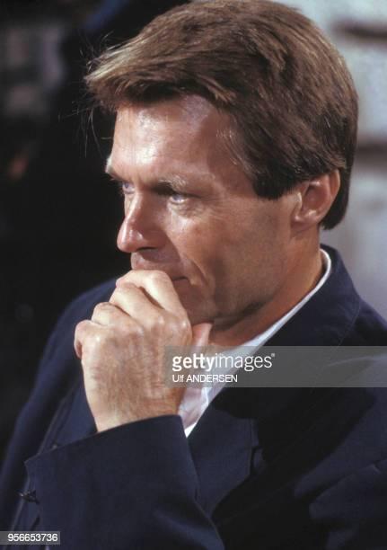 L'écrivain français JeanMarie Gustave Le Clézio à Paris le 9 septembre 1988 France
