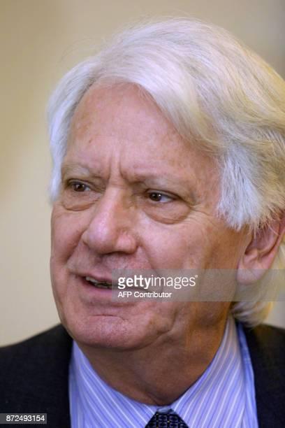 L'écrivain francoespagnol Jorge Semprun photographié le 01 février 2001 à Madrid / AFP PHOTO / PierrePhilippe MARCOU