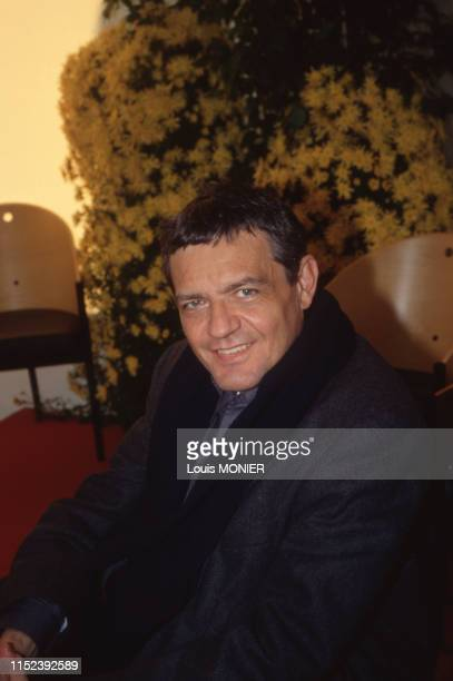 écrivain italien Alessandro Gennari à Brive-la-Gaillarde en novembre 1998, France.