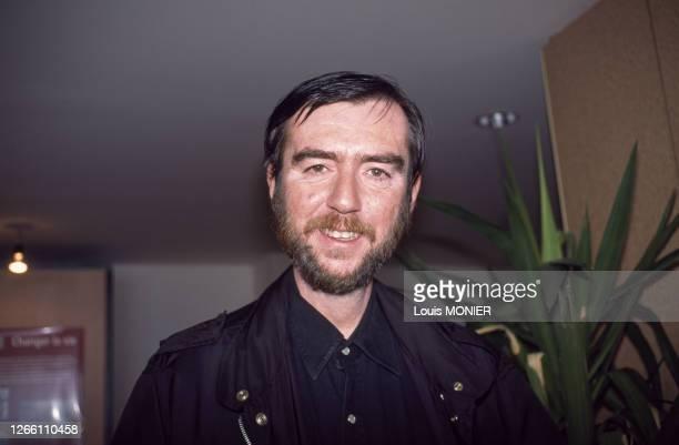 écrivain italien Valerio Evangelisti au festival 'Etonnants Voyageurs' à Saint-Malo, France en mai 2000.