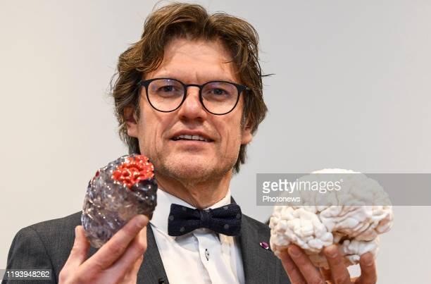 Cérémonie de remise du Prix Generet pour les maladies rares - Uitreiking van de Prijs Generet voor zeldzame ziekten * Steven Laureys Brussels pict....