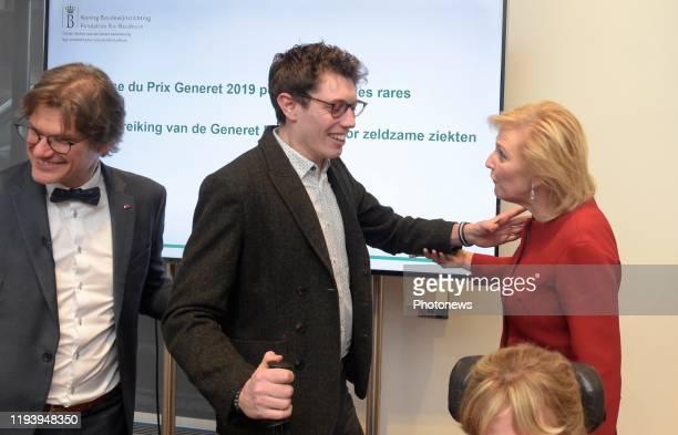 Cérémonie de remise du Prix Generet pour les maladies rares - Uitreiking van de Prijs Generet voor zeldzame ziekten * Steven Laureys * Stieg Broeckx...