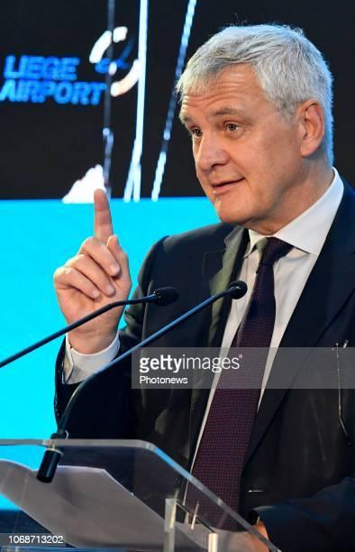 Cérémonie de signatures relatives aux projets du Groupe Alibaba en Belgique organisée par le Gouvernement fédéral Alibaba Group le Gouvernement...