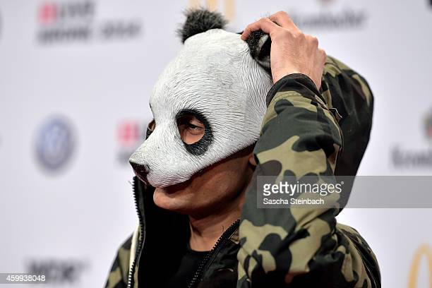 'Cro' attends the 1Live Krone 2014 at Jahrhunderthalle on December 4 2014 in Bochum Germany