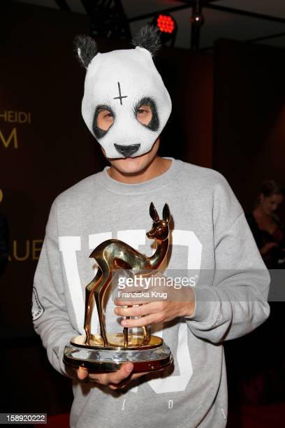 Cro attends the 'BAMBI Awards 2012' at the Stadthalle Duesseldorf on November 22 2012 in Duesseldorf Germany