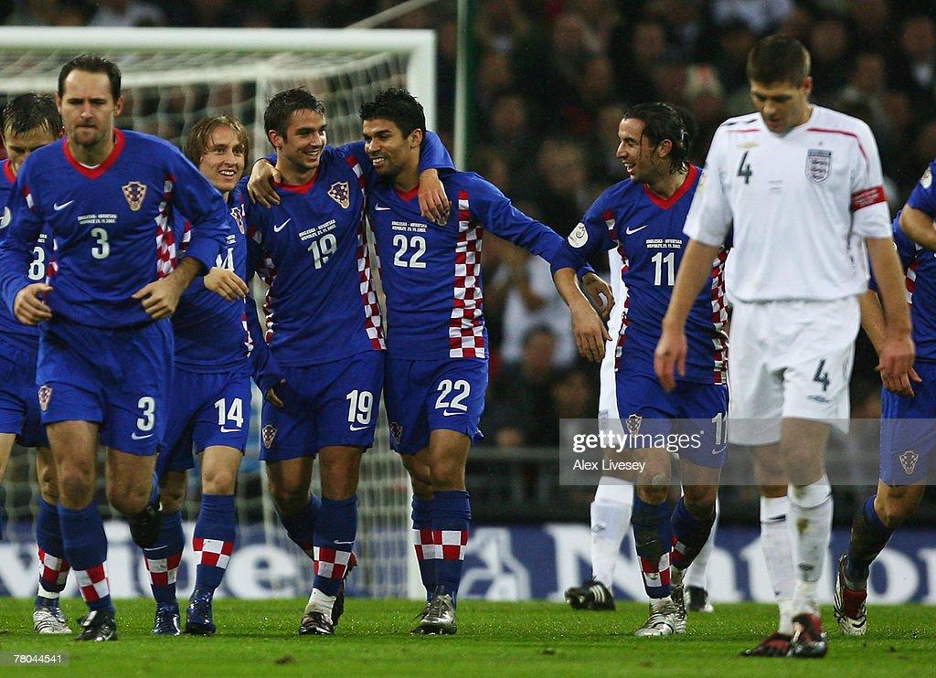 Euro2008 Qualifier - England v Croatia