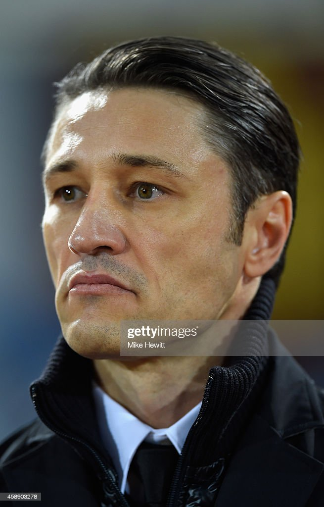 Croatia coach Niko Kovac looks on during an International Friendly between Argentina and Croatia at Boleyn Ground on November 12, 2014 in London, England.