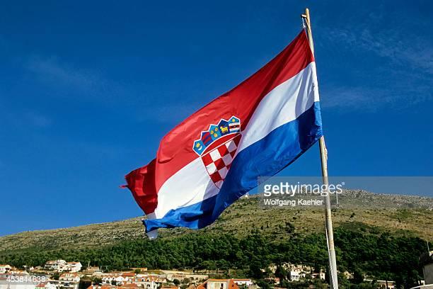 Croatia Dubrovnik Croatian Flag