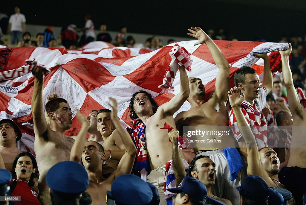 Croatia fans : News Photo