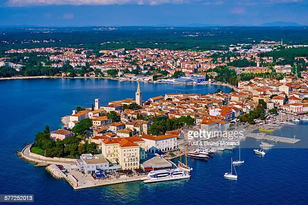 croatia, istria, porec - peninsula stock pictures, royalty-free photos & images