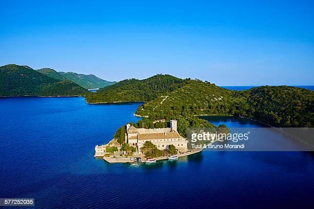 Croatia, Mljet island, St. Mary Island