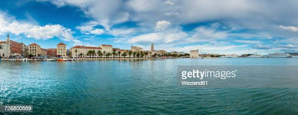 Croatia, Split, view to waterfront promenade