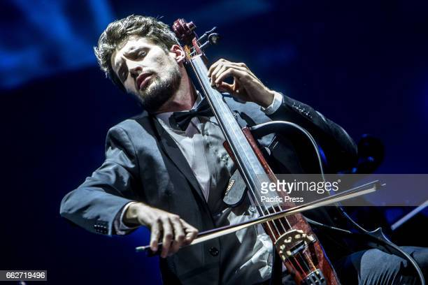 Croatian cello duo 2Cellos performs live at Mediolanum Forum Luka Sulic and Stjepan Hauser perform internationally and have been featured on several...