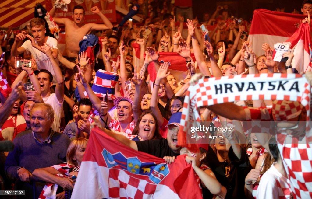 Croatia v Denmark : Round of 16 - 2018 FIFA World Cup Russia : Fotografía de noticias
