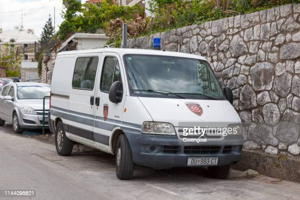 Croatian judicial police van (Pravosudna policija)