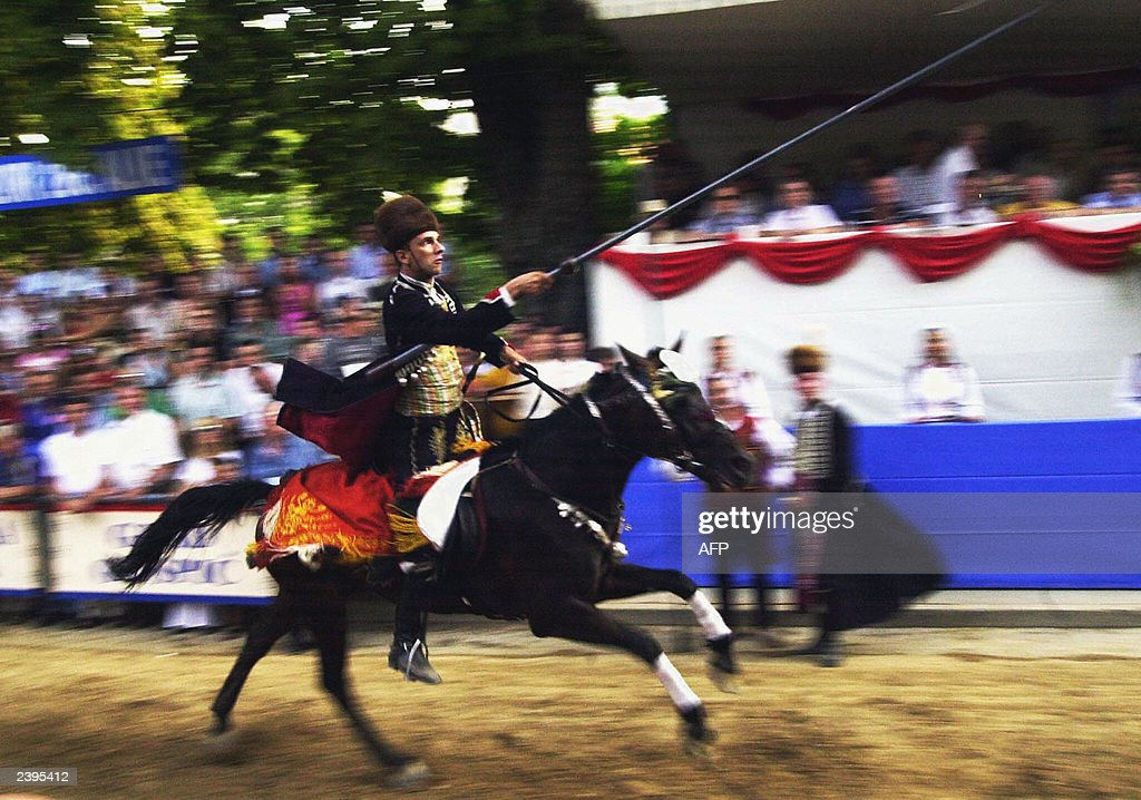 Sinjska Alka is a 300 year-old knight's tournament annually taking place in Sinj, Croatia. It symbolizes a fight for freedom.