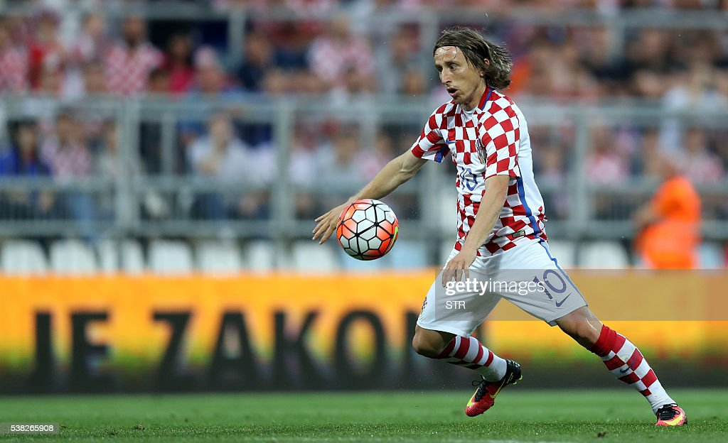 FBL-EURO-2016-FRIENDLY-CRO-SMR : News Photo