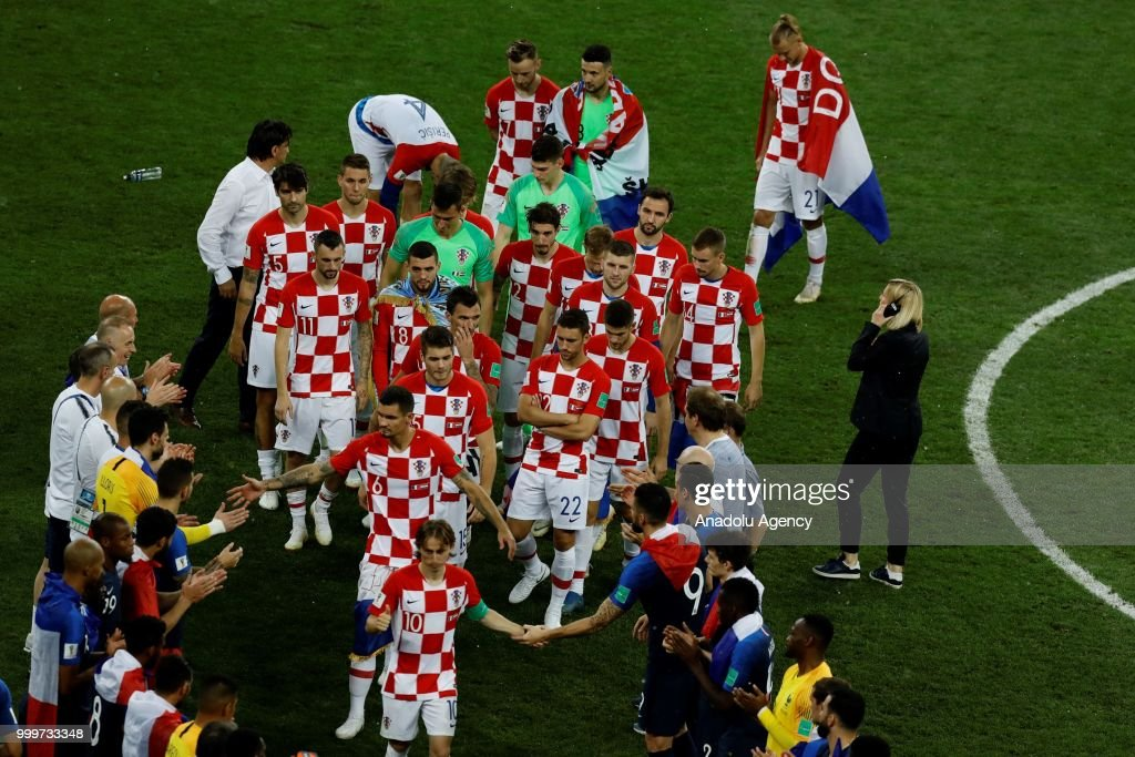 France vs Croatia: Final - 2018 FIFA World Cup : News Photo