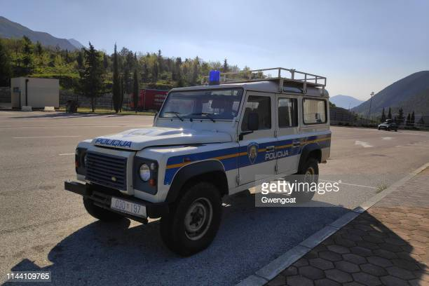 Croatian police 4x4