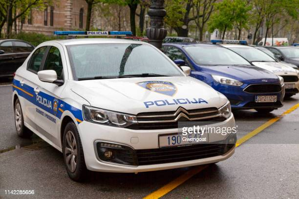 Croatian police cars