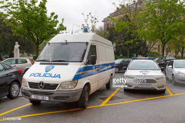 Croatian police vehicles