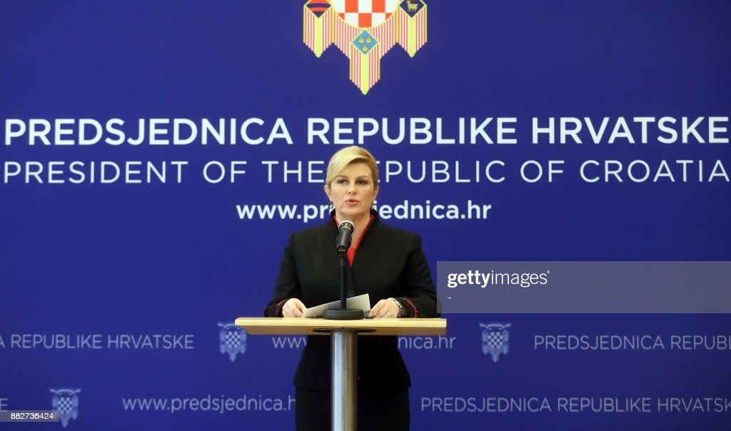 CROATIA-BOSNIA-WARCRIME-TRIAL-POLITICS : News Photo