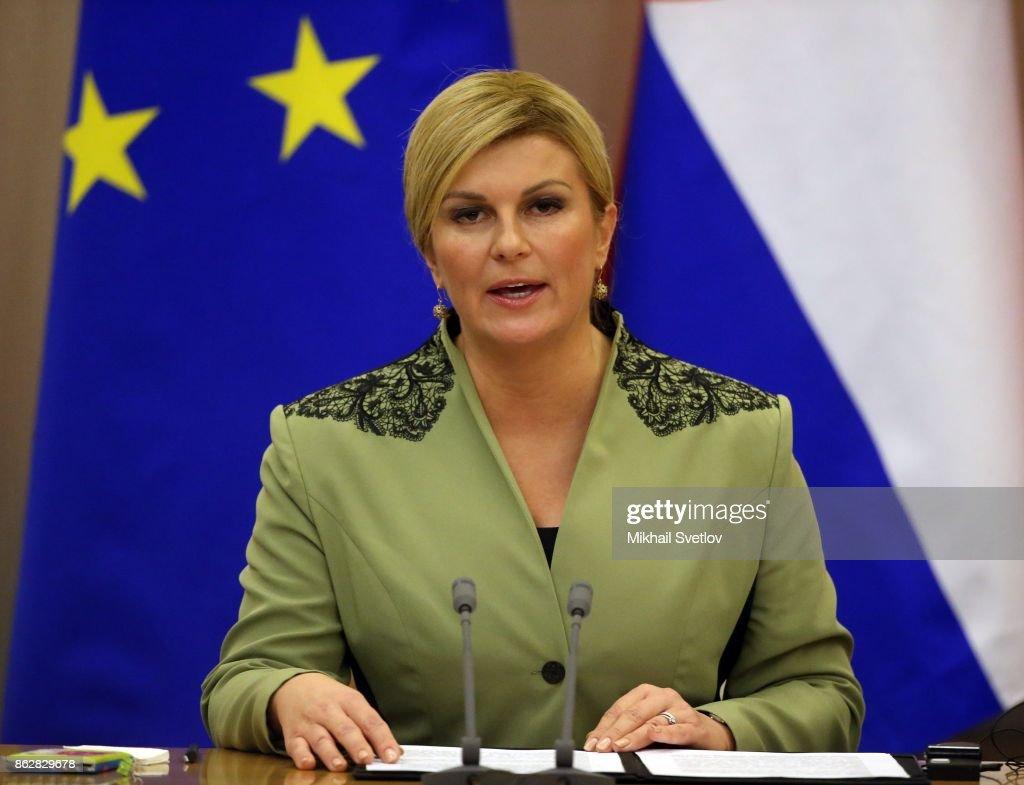 Staatschefin Kroatien