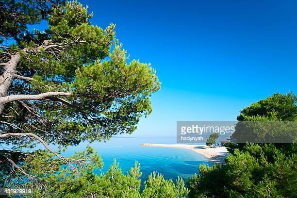Croata paisaje marino