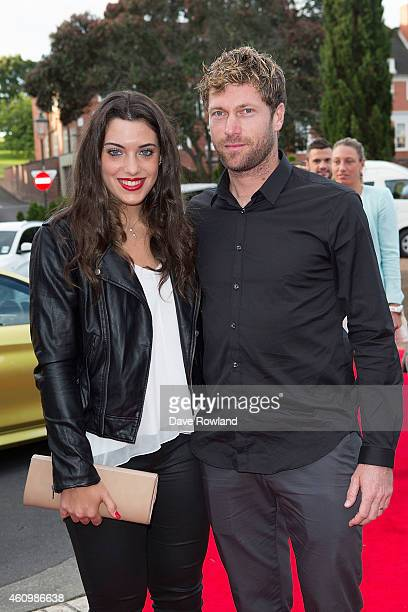 Croatia`s Ana Konjuh with coach Christian Schneider arrive at the ASB Classic Player's Party at TriBeCa on January 3 2015 in Auckland New Zealand